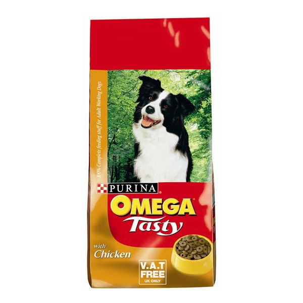 Omega Tasty Chicken and Rice Adult Working Dog Food 15kg