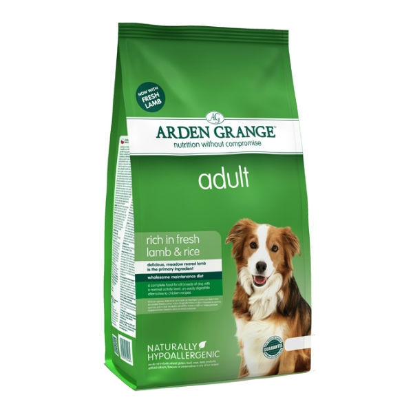 Arden Grange Lamb Dog Food 12kg